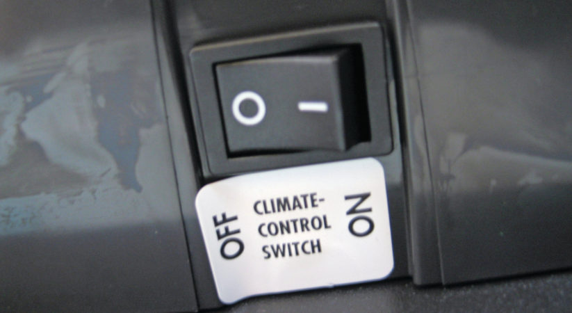 RV Refrigerator Climate Control Switch