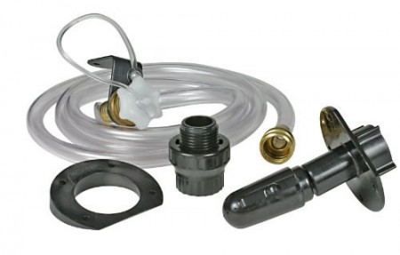 Holding tank flush system kit