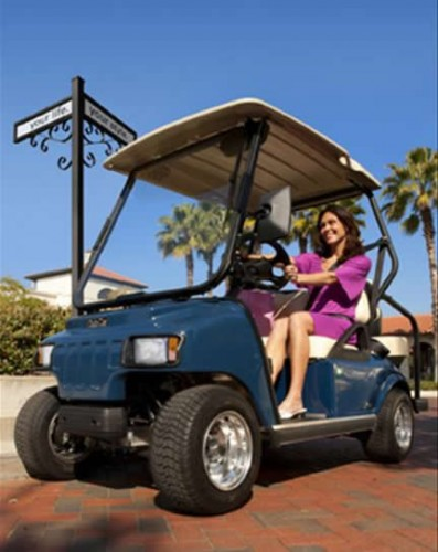 Neighborhood Electric Vehicles Popular at RV Resorts and Campgrounds