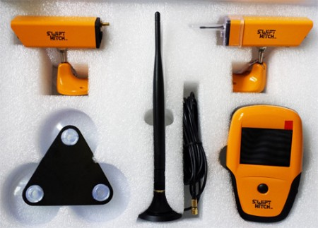 Two-Camera Portable Wireless Back-up and Monitoring System by Swift Hitch