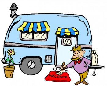RV home cartoon