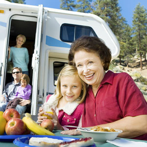 RVing grandparents