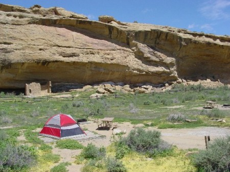 Gallo Campground Chaco Culture National Historical Park