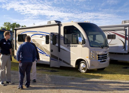 New 2014 Vegas RUV Motorhomes from Thor Motor Coach at the 2013 Thor Open House
