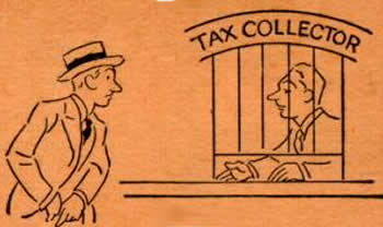 monopoly tax collector