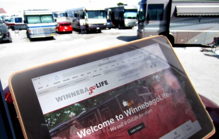 Winnebago RV Lifestyle Website