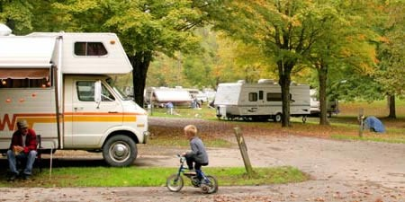 Kentucky state park campground