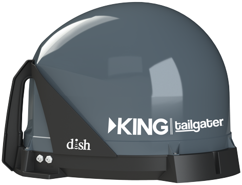 King has new automatic satellite TV antennas for Dish and DIRECTV