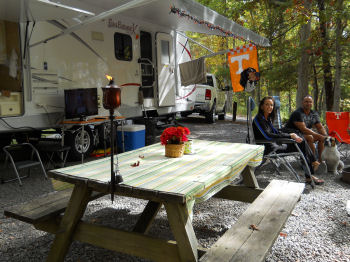 West Virginia State Parks Ready for 2015 Camping Season