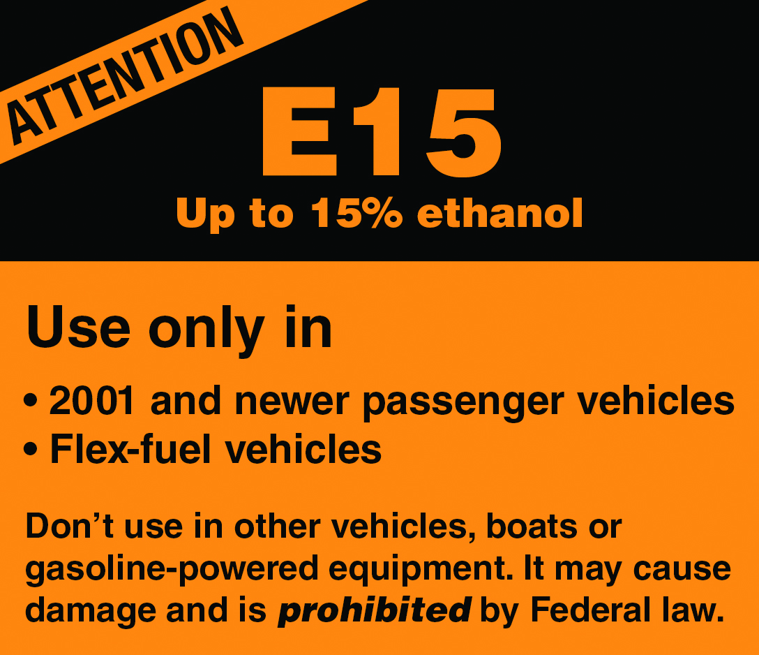 New E15 Fuel Will Ruin Your Engine