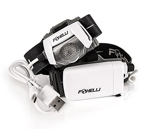 Foxelli MX500 Headlight Perfect for RVers