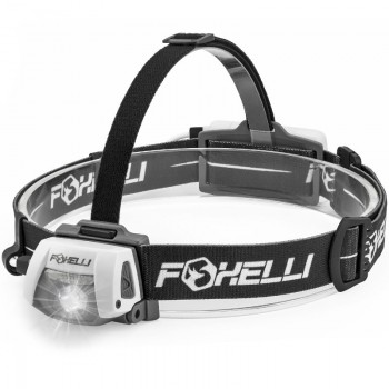 Foxelli LED headlight LED flashight