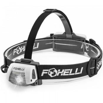 Foxelli LED headlight LED flashight