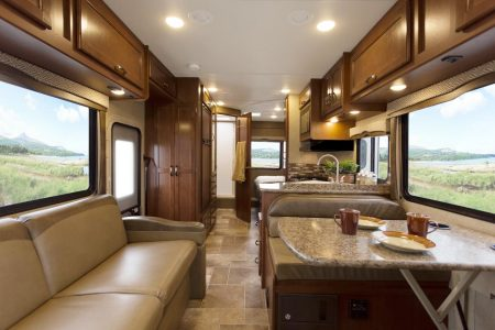 2017 Chateau Class C Motorhome Interior