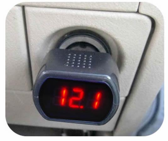 RV Battery Voltage Monitor