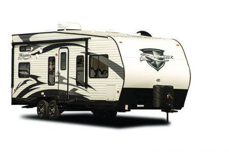 Rage'n toyhauler from Pacific Coachworks