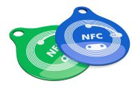 NFC chip-enabled key tags
