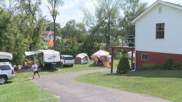 Backyard Campground Popular With Race Fans