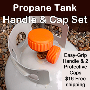 Propane Handle & Cap Set