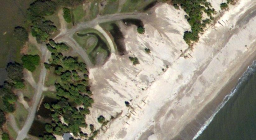 Half of Campground at S.C. Hunting Island State Park Closed