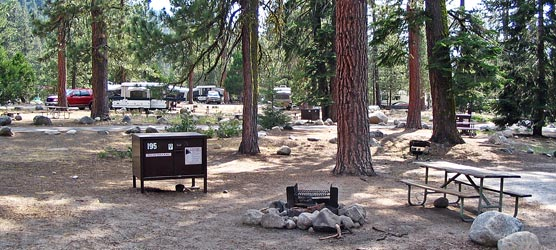 Camping at Kings Canyon Limited on Memorial Day