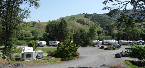 RV Camping in South Douglas County, Oregon