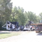 Motorhome Fire Believed Caused by Refrigerator