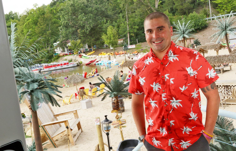 Tiki Beach Bar And Resort Paradise In Wisconsin Rv Tip