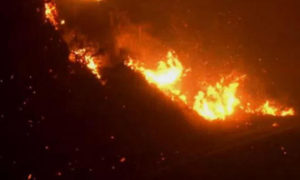 High Winds Feed California Wildfires
