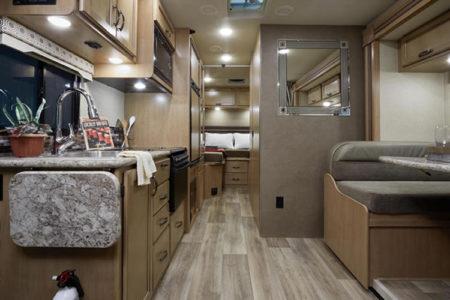 Thor Motor Coach floor plans