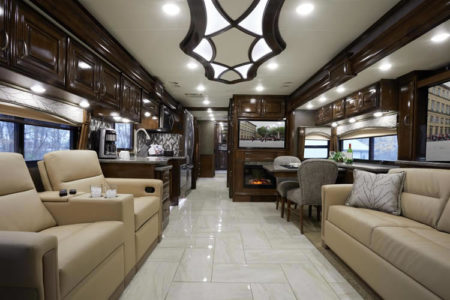 thor motor coach floor plan