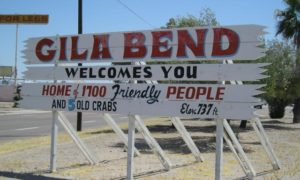Gila Bend, Arizona Welcomes Snowbirds
