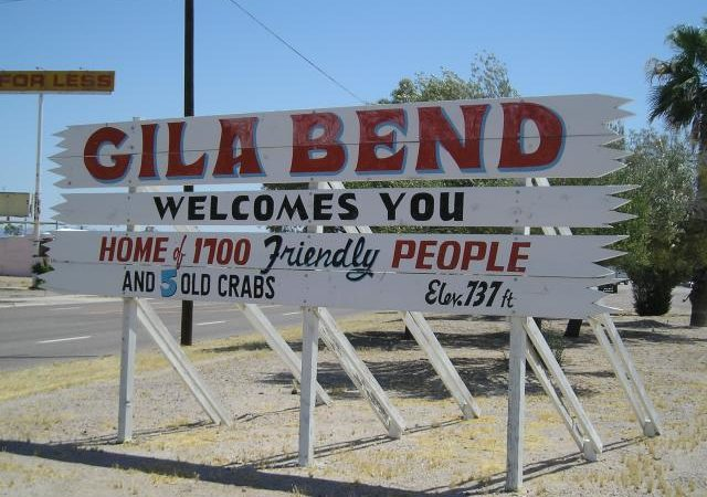 Gila Bend, Arizona Welcomes Snowbirds