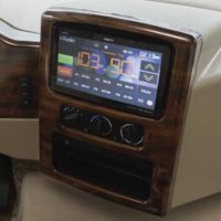 Large Screen Radio/Dash Monitor