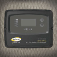 Go Power 200 watt Solar Charge Controller