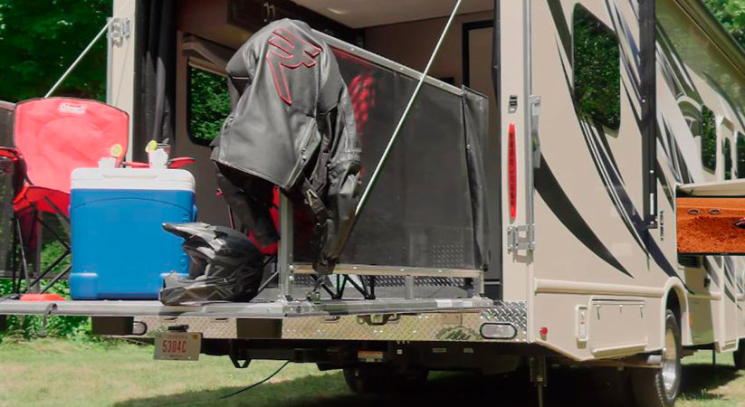 Thor Outlaw Toy Hauler Made for Outdoor Enthusiasts