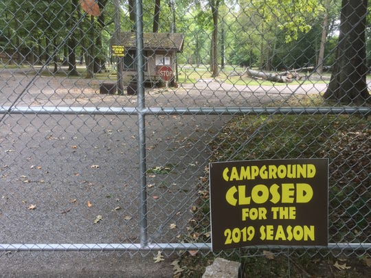 Audubon State Park Campground Still Closed