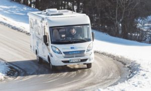 Winter RV Driving Tips
