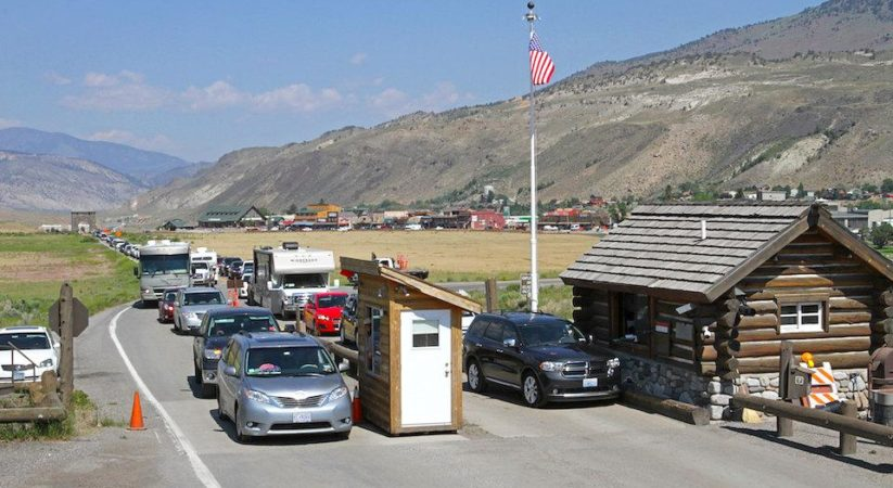 Yellowstone Park North Entrance Improvements