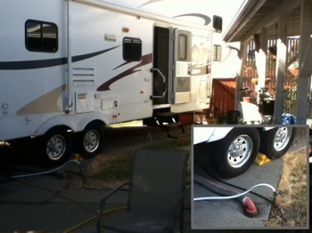 How to install rv hookups at home
