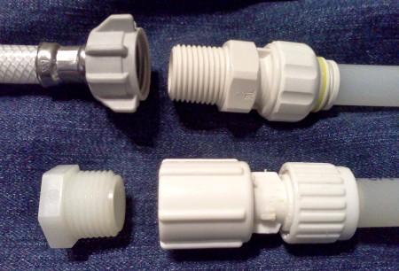 Rv Plumbing Repair Pex Tubing And Fittings